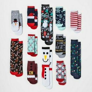 GREAT GIFT 12 Days of Christmas Socks Women's 2017